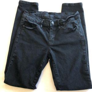 BDG Black Twig Mid Rise Jeans. Size 27.
